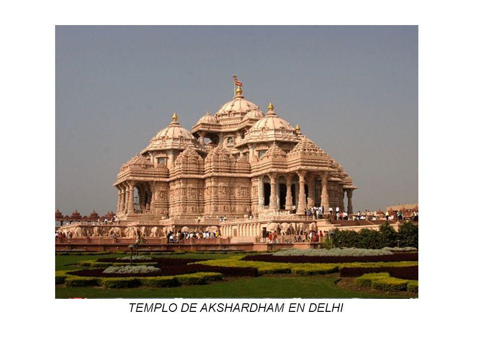 TEMPLO DE AKSHARDHAM EN DELHI