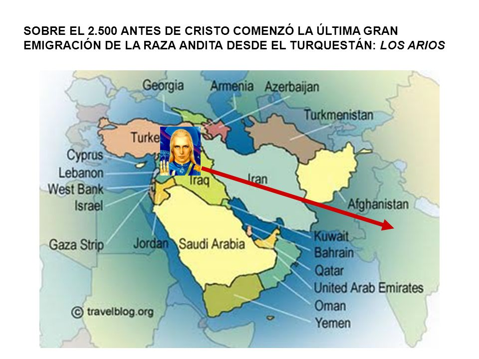 SOBRE EL 2.500 ANTES DE CRISTO COMENZÓ LA ÚLTIMA GRAN