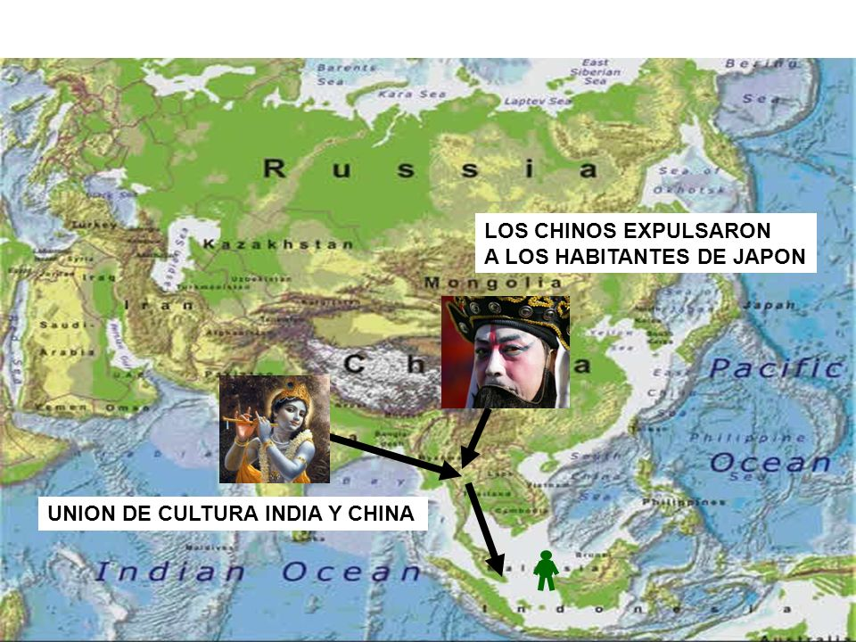LOS CHINOS EXPULSARON A LOS HABITANTES DE JAPON UNION DE CULTURA INDIA Y CHINA