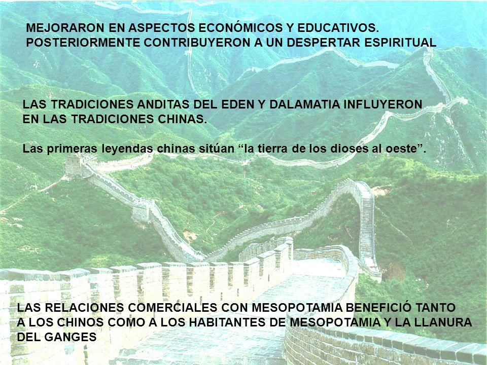 MEJORARON EN ASPECTOS ECONÓMICOS Y EDUCATIVOS.