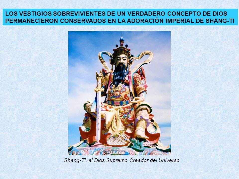 LOS VESTIGIOS SOBREVIVIENTES DE UN VERDADERO CONCEPTO DE DIOS