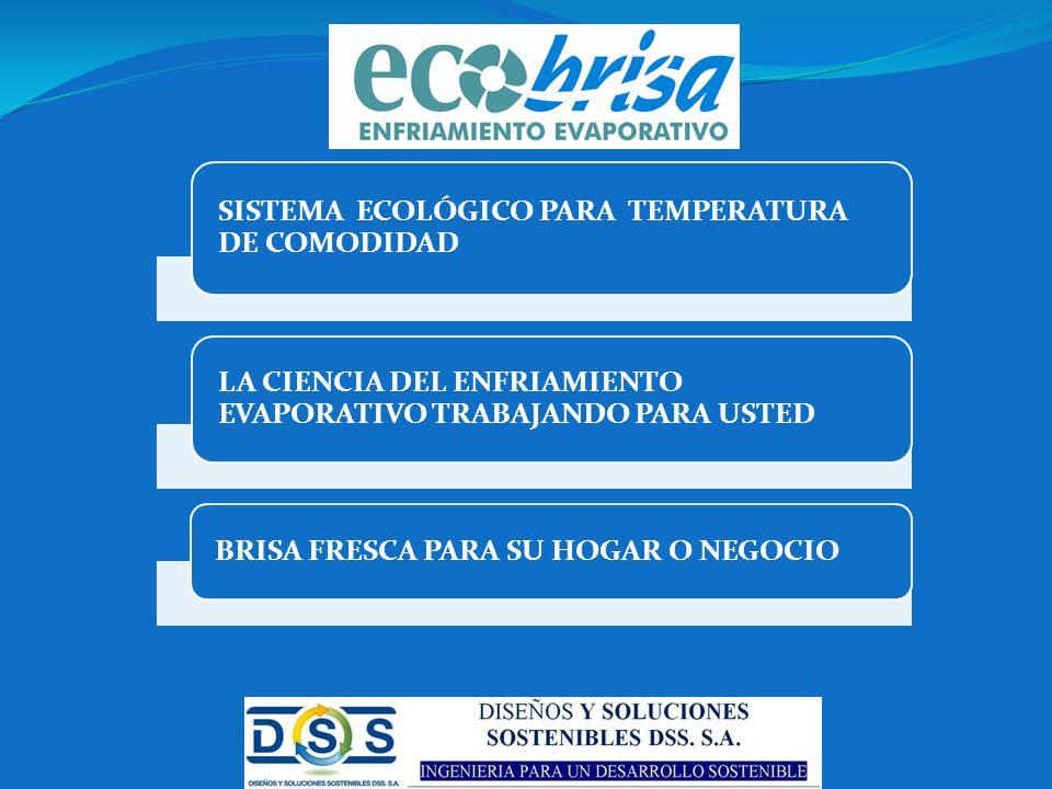 SISTEMA ECOLÓGICO PARA TEMPERATURA DE COMODIDAD
