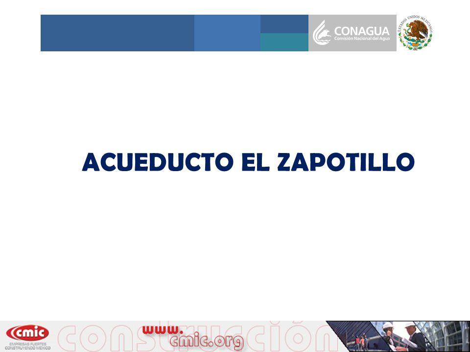 ACUEDUCTO EL ZAPOTILLO