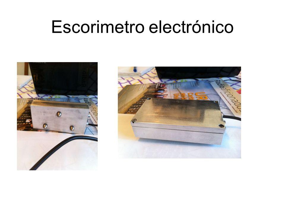 Escorimetro electrónico