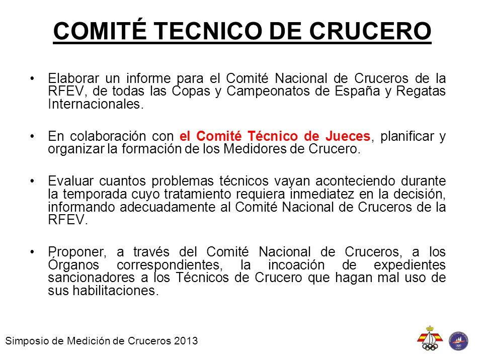 COMITÉ TECNICO DE CRUCERO