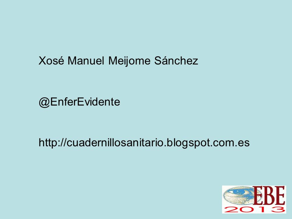 Xosé Manuel Meijome Sánchez