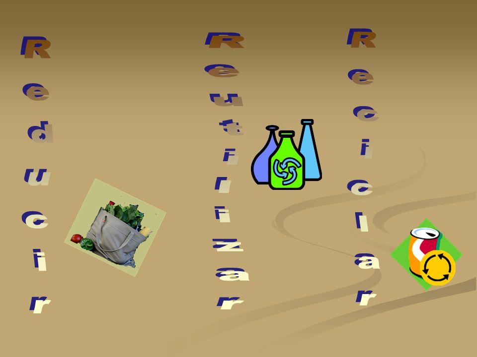 Reutilizar Reciclar Reducir