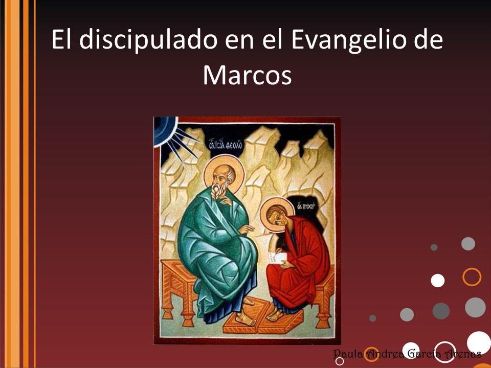 El discipulado en el Evangelio de Marcos