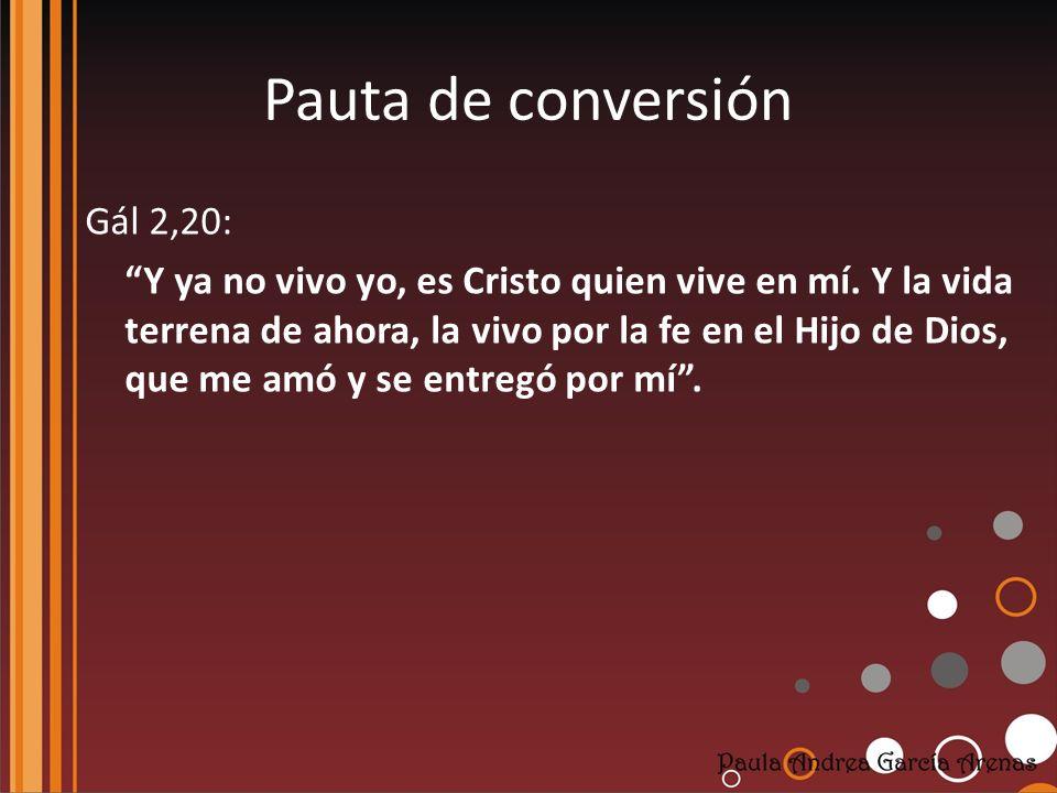 Pauta de conversión