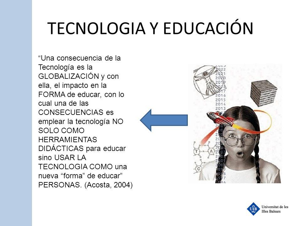TECNOLOGIA Y EDUCACIÓN