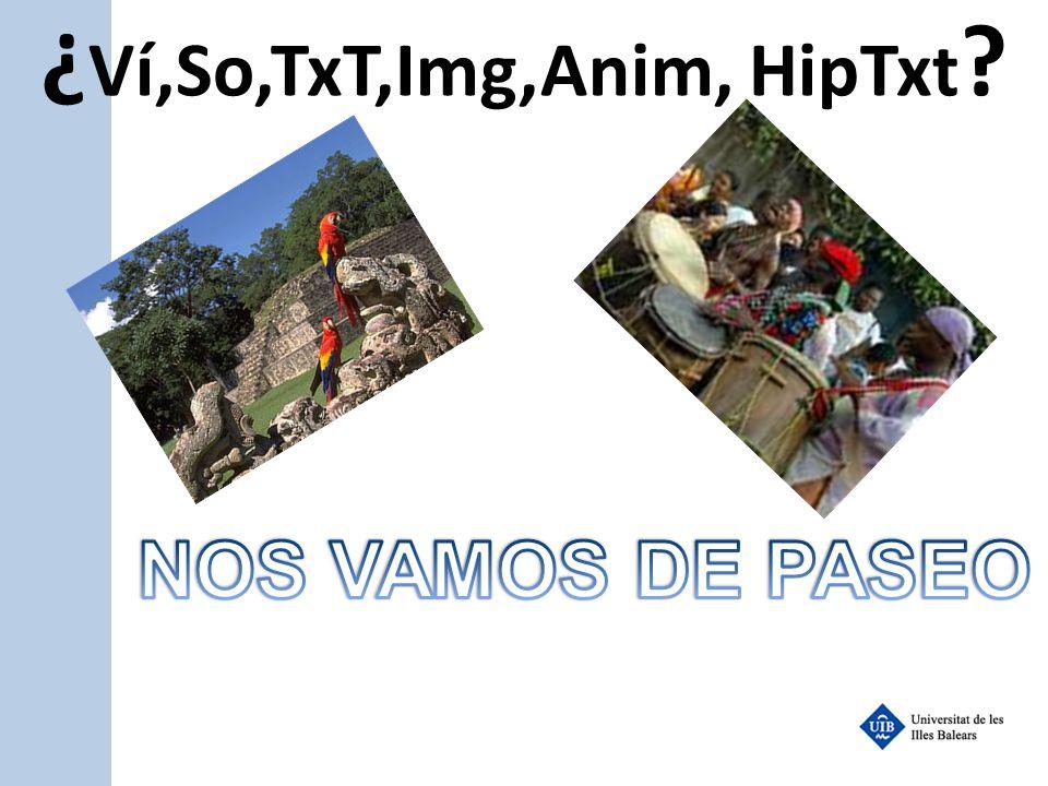 ¿Ví,So,TxT,Img,Anim, HipTxt