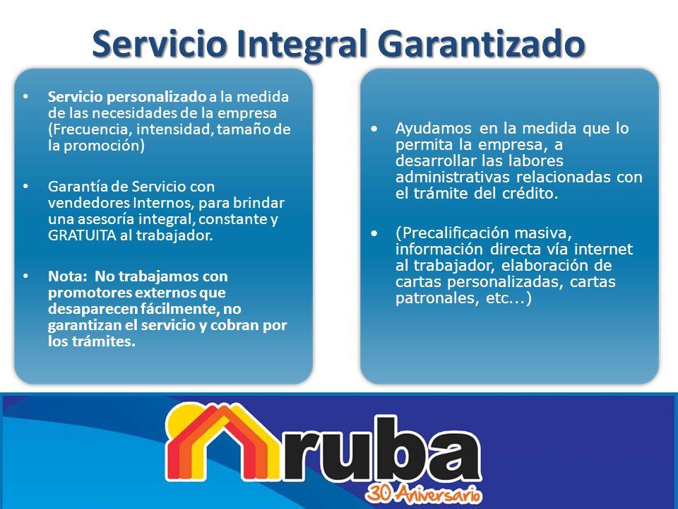 Servicio Integral Garantizado