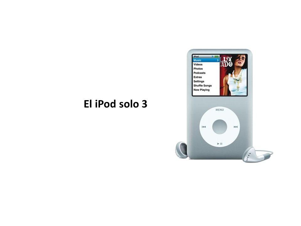 El iPod solo 3