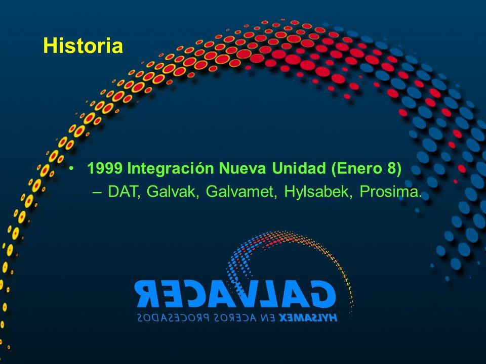 Historia 1999 Integración Nueva Unidad (Enero 8)