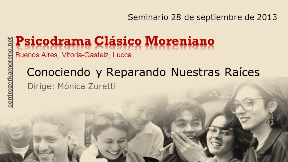 Psicodrama Clásico Moreniano