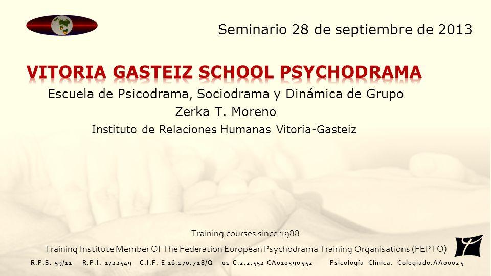 VITORIA GASTEIZ SCHOOL PSYCHODRAMA