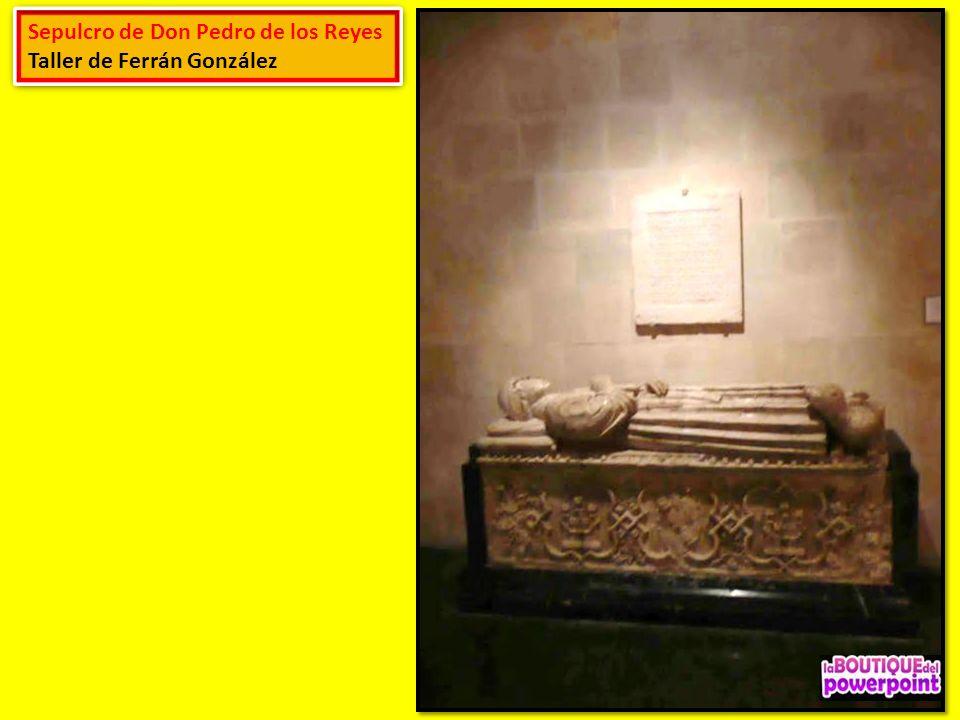 Sepulcro de Don Pedro de los Reyes