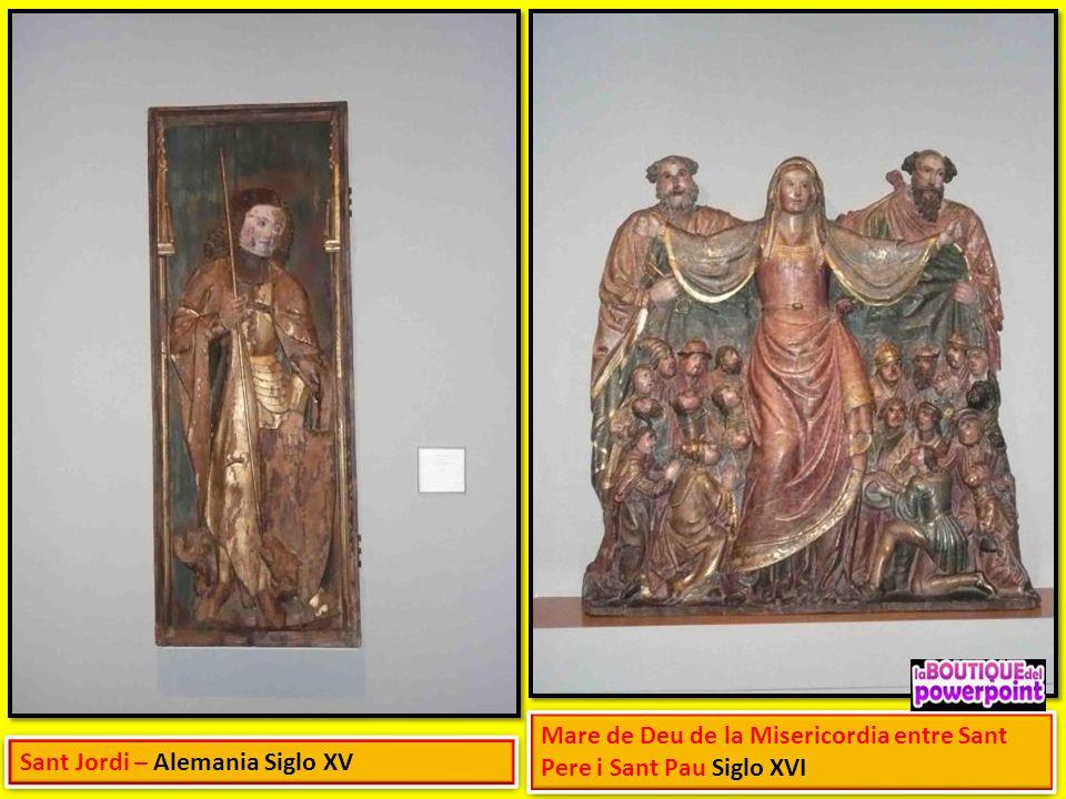 Mare de Deu de la Misericordia entre Sant Pere i Sant Pau Siglo XVI