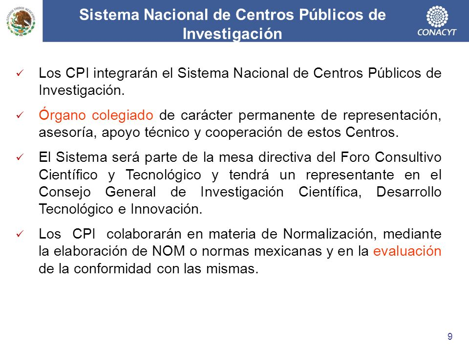 Sistema Nacional de Centros Públicos de Investigación