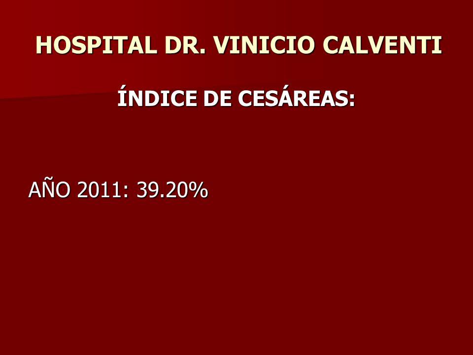 HOSPITAL DR. VINICIO CALVENTI