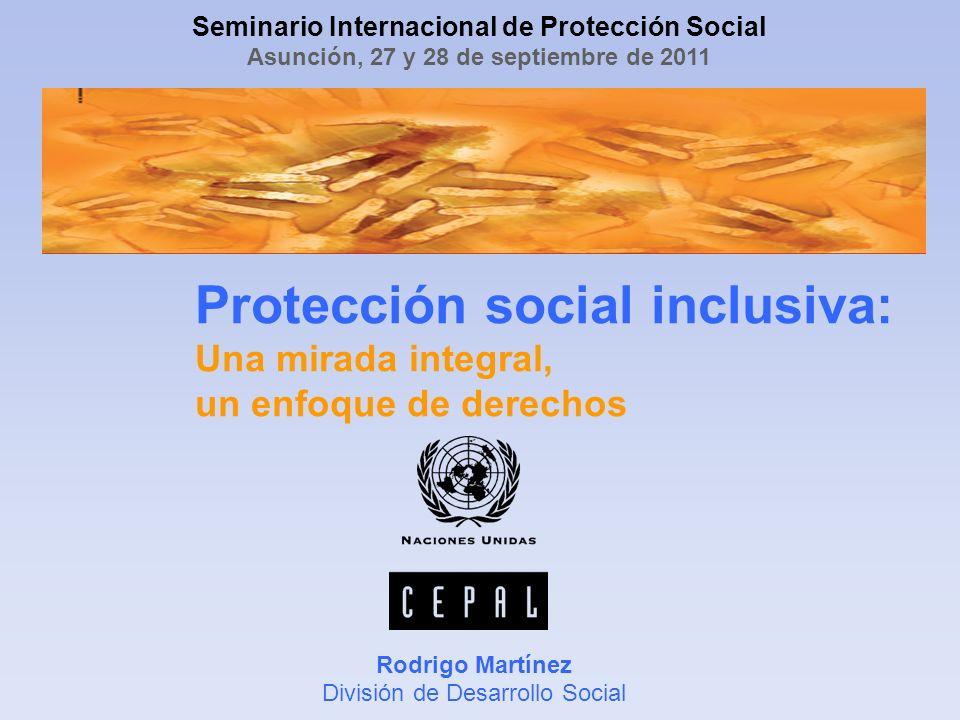 Rodrigo Martínez División de Desarrollo Social