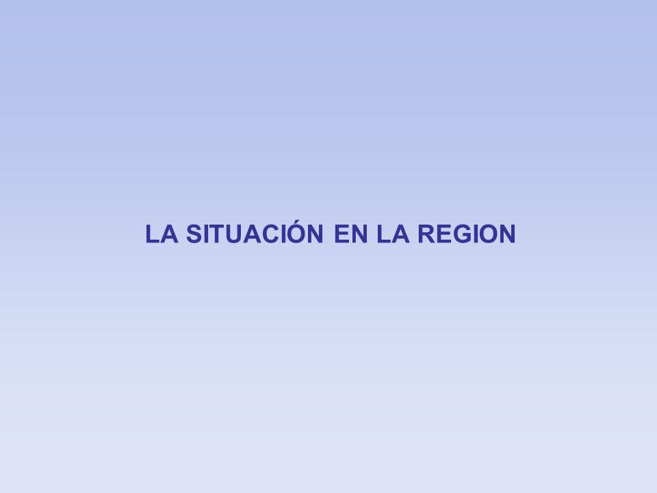 LA SITUACIÓN EN LA REGION