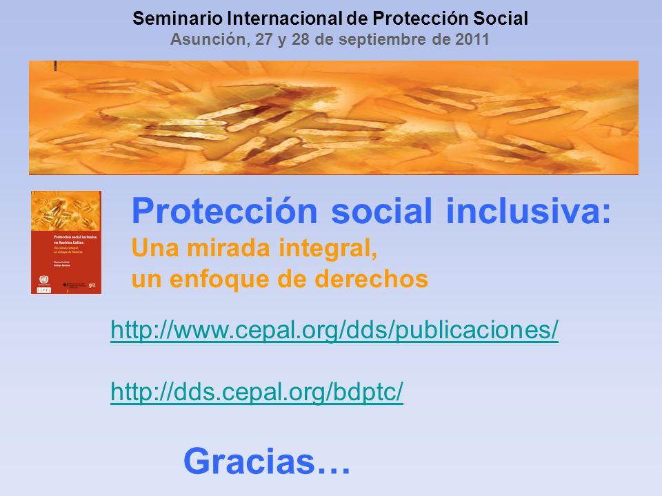Seminario Internacional de Protección Social