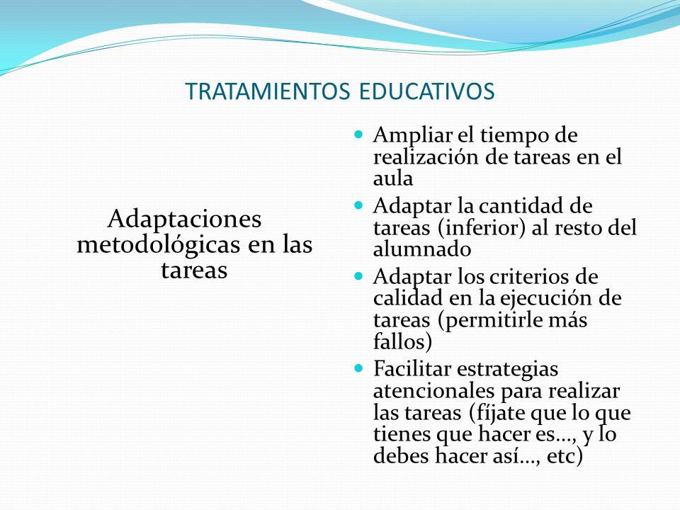 TRATAMIENTOS EDUCATIVOS
