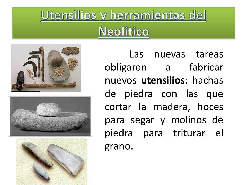 Utensilios y herramientas del Neolitico