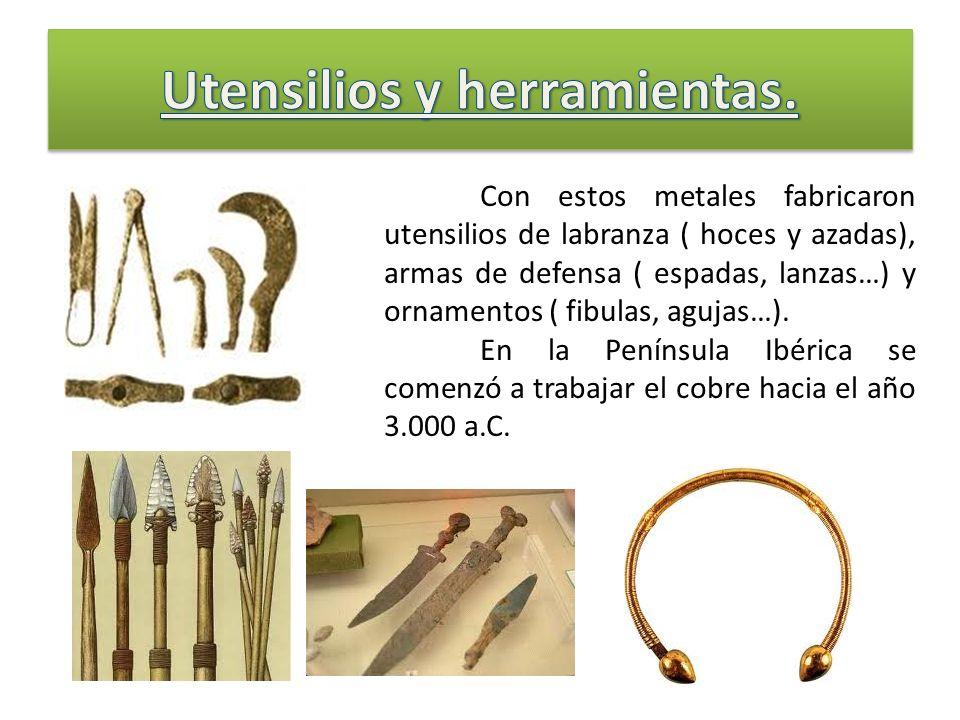 Utensilios y herramientas.