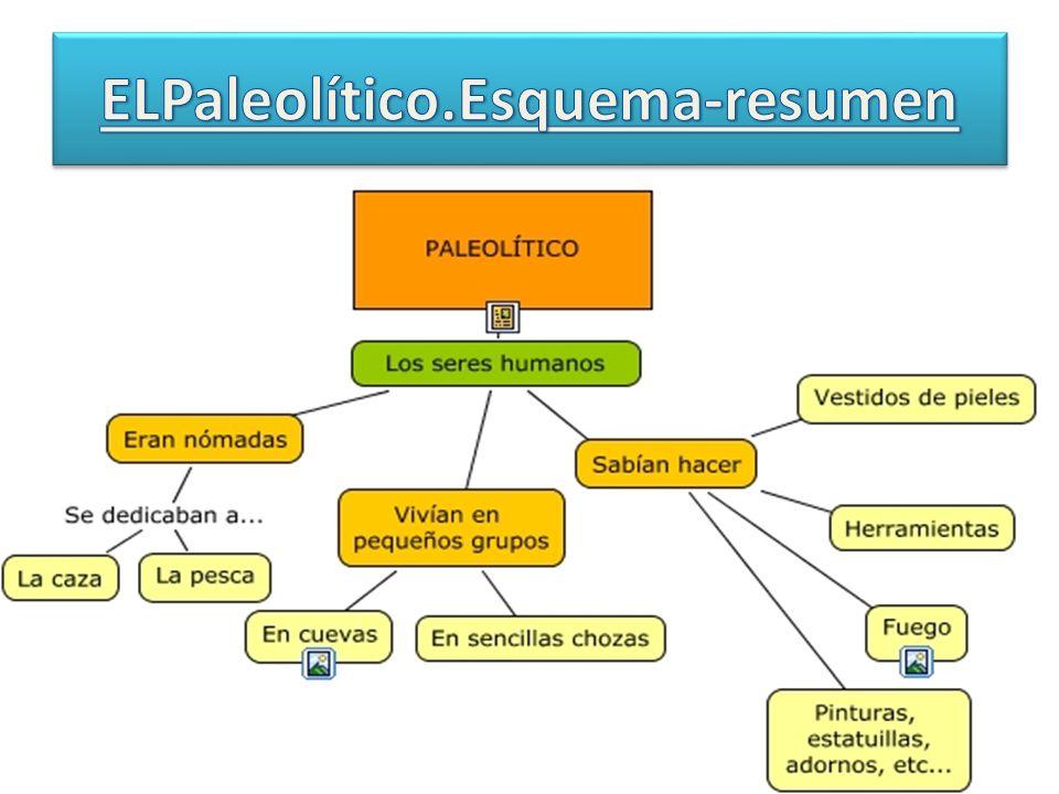 ELPaleolítico.Esquema-resumen