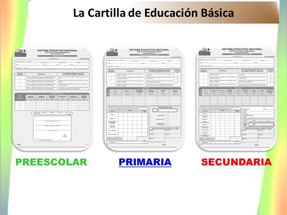 La Cartilla de Educación Básica