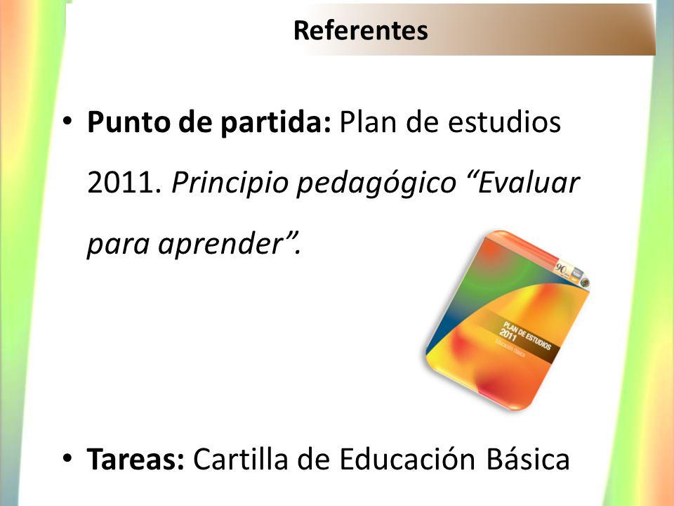Tareas: Cartilla de Educación Básica