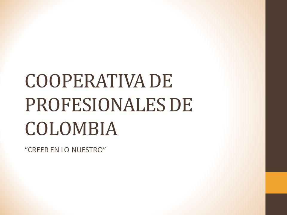 COOPERATIVA DE PROFESIONALES DE COLOMBIA