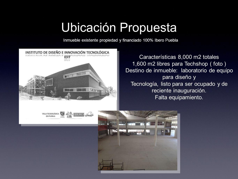 Ubicación Propuesta Características 8,000 m2 totales