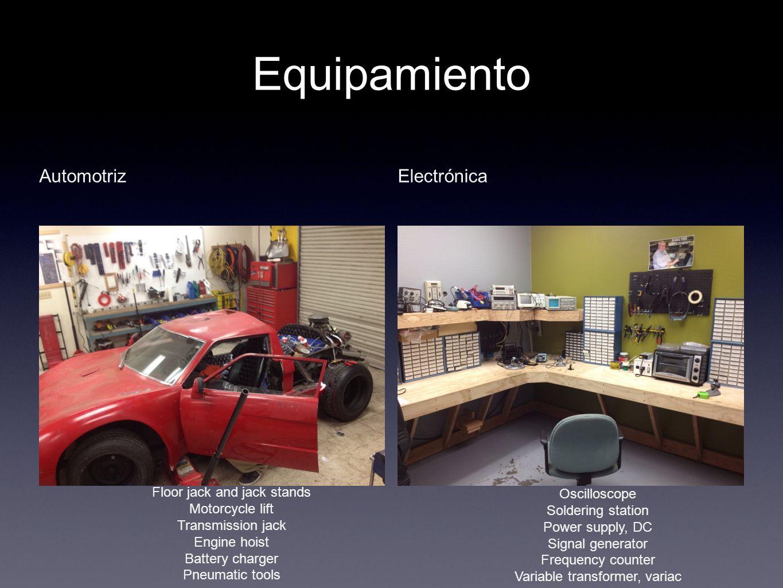 Equipamiento Automotriz Electrónica