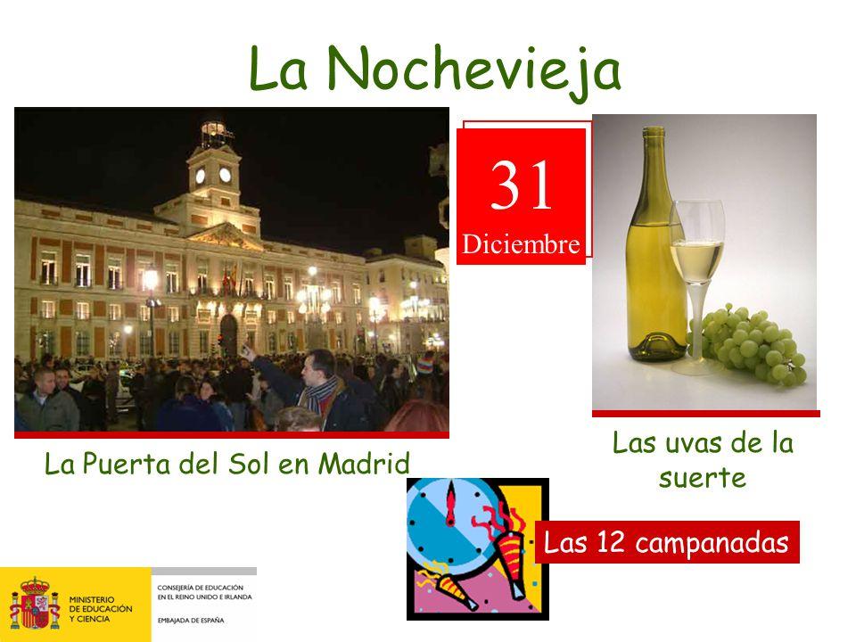 31 La Nochevieja Diciembre Las uvas de la suerte