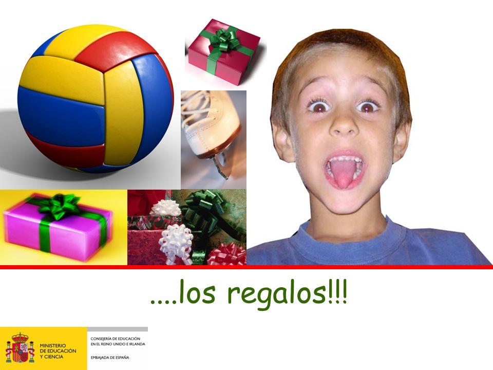 ....los regalos!!!