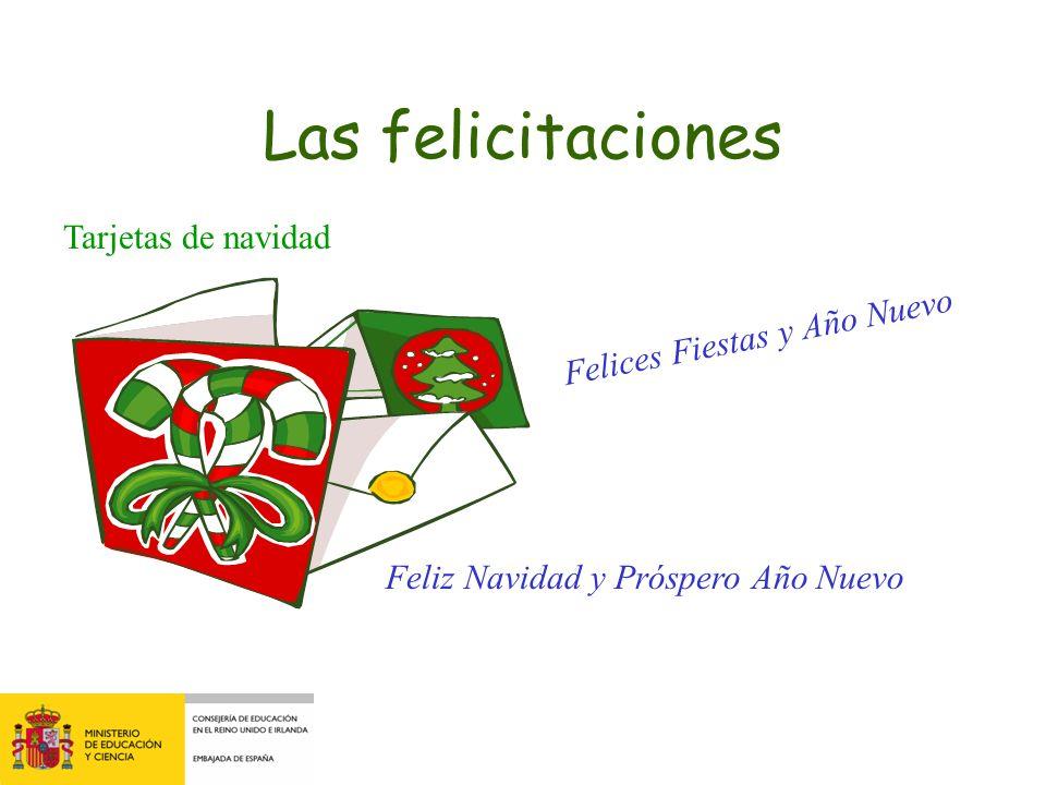 Las felicitaciones Tarjetas de navidad Felices Fiestas y Año Nuevo