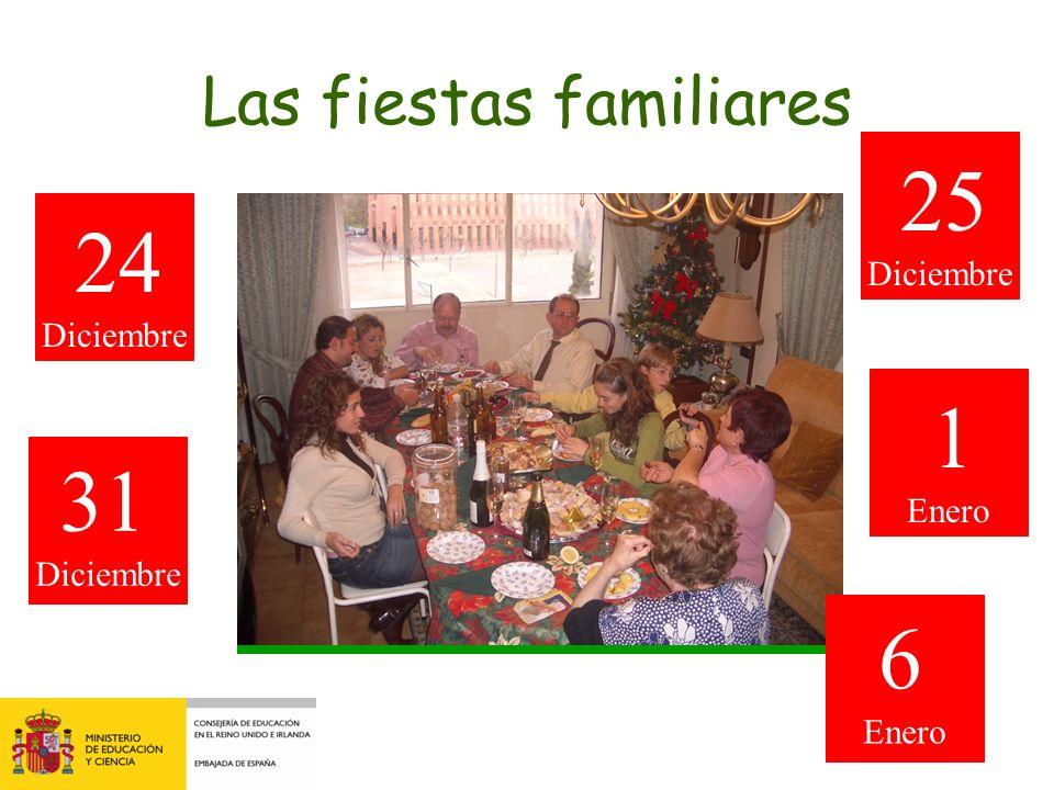 Las fiestas familiares