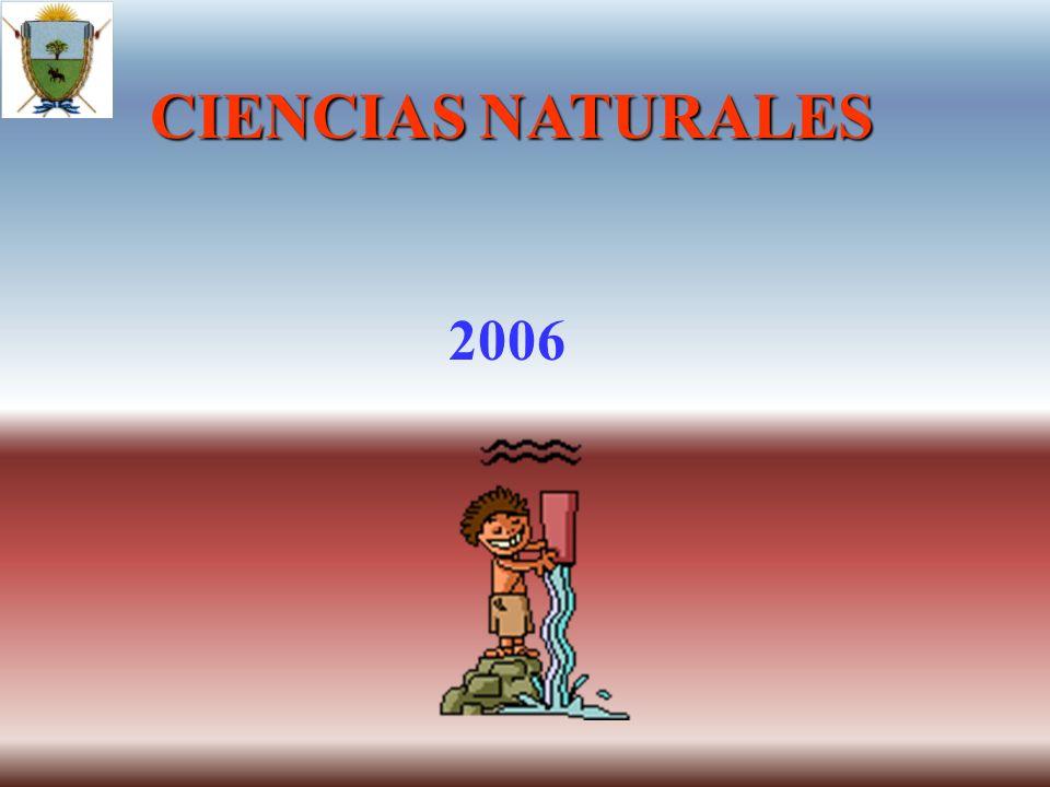 CIENCIAS NATURALES 2006