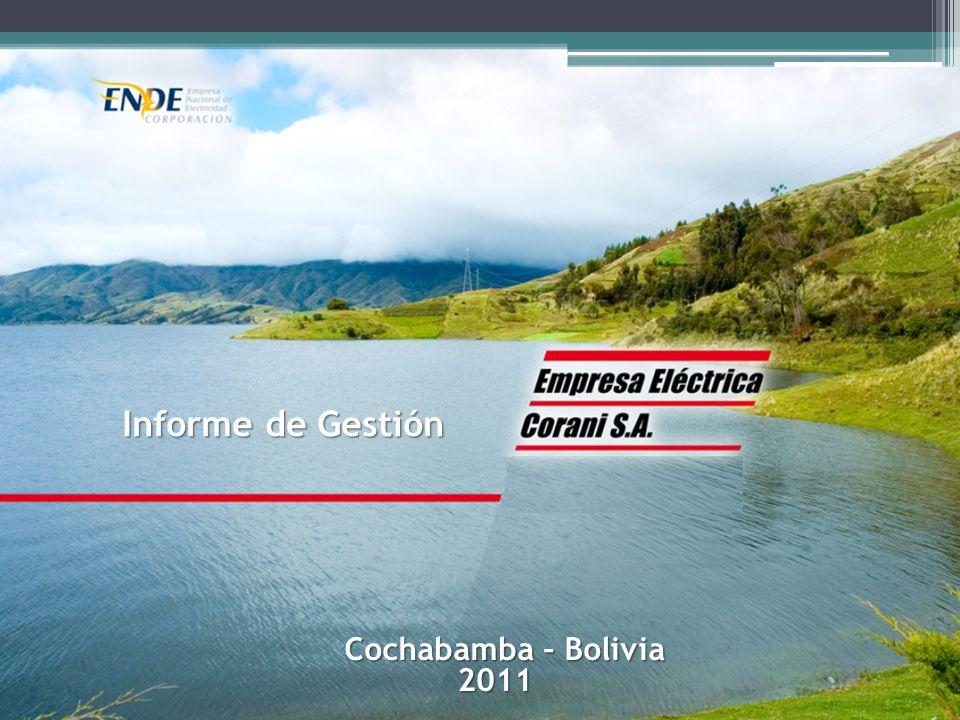 Informe de Gestión Cochabamba – Bolivia 2011
