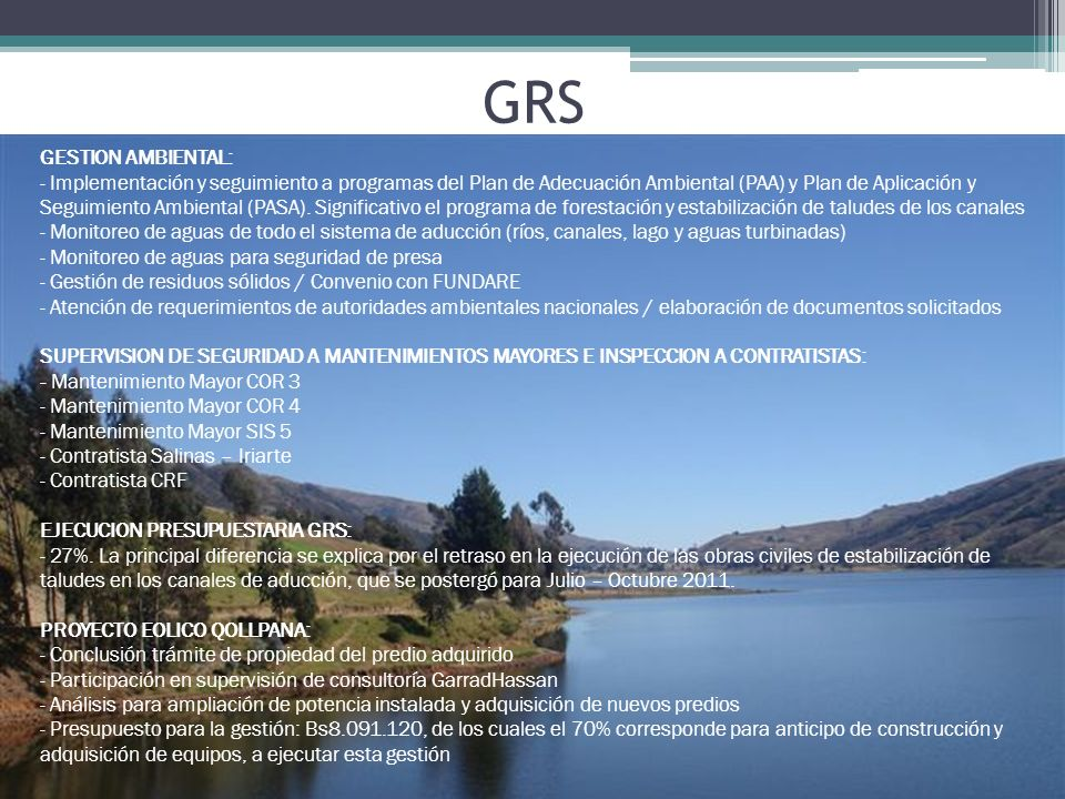 GRS GESTION AMBIENTAL:
