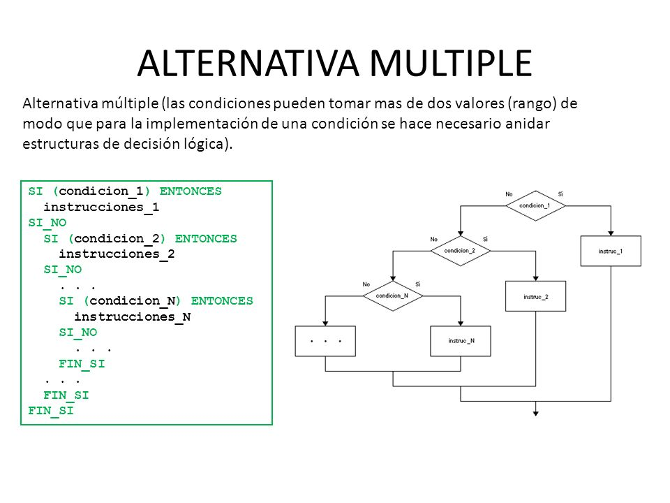 ALTERNATIVA MULTIPLE