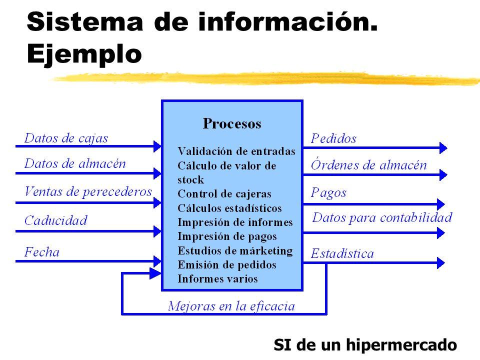 Sistema de información. Ejemplo