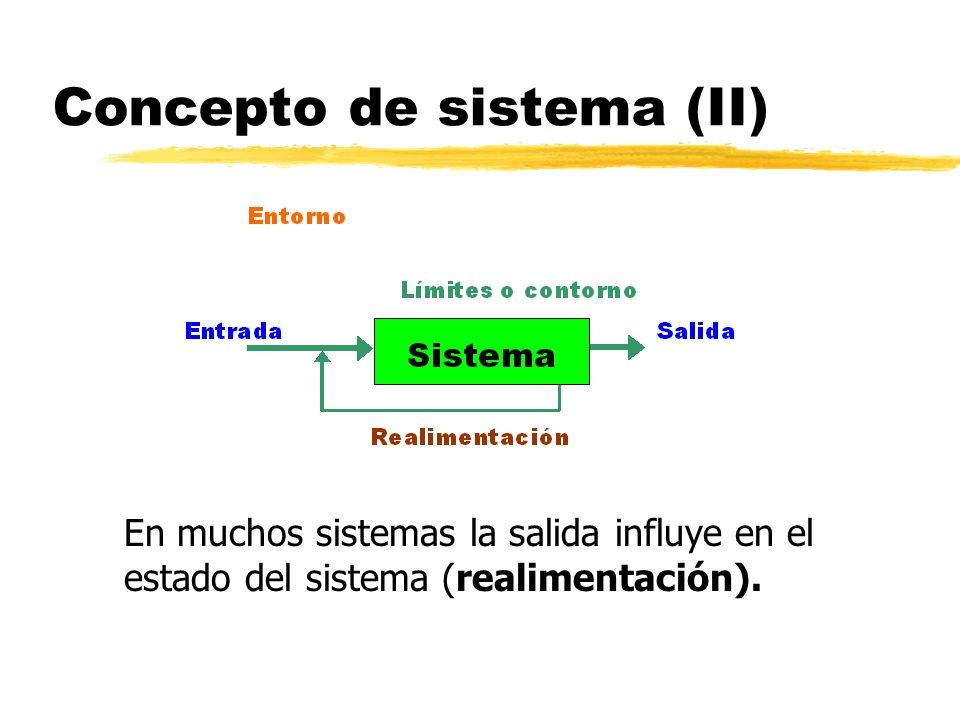 Concepto de sistema (II)
