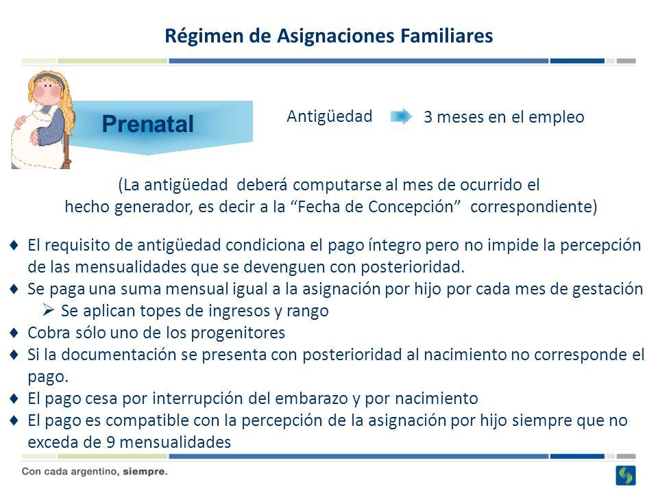Régimen de Asignaciones Familiares