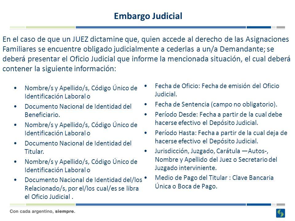 Embargo Judicial