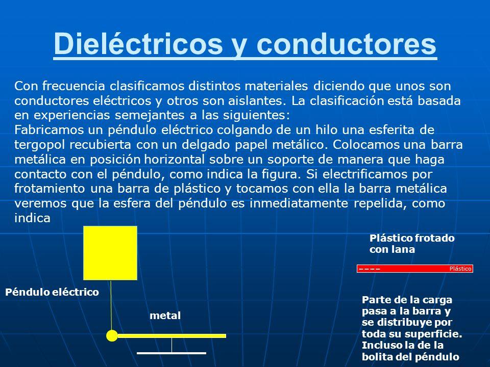 Dieléctricos y conductores