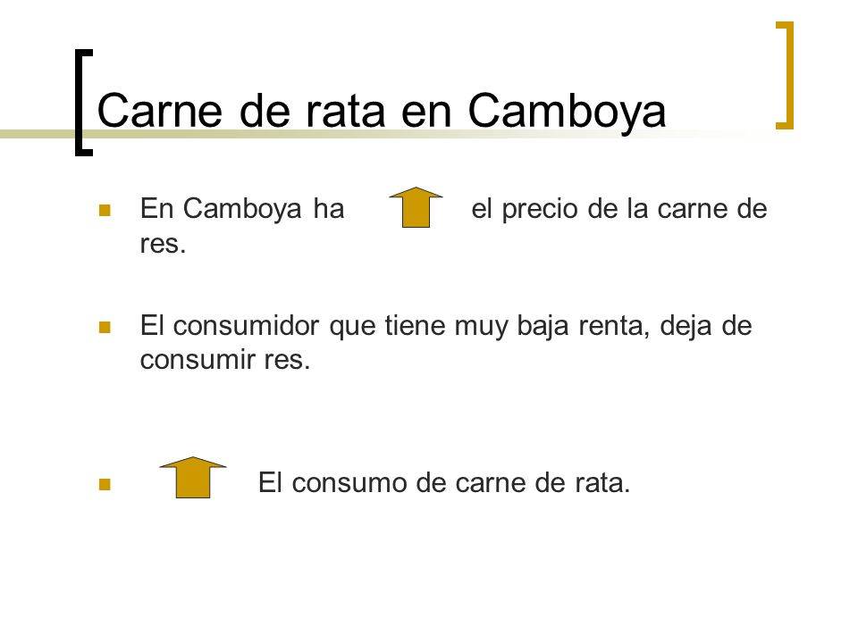 Carne de rata en Camboya